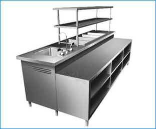 stainless steel commercial kitchen trolley water coolers