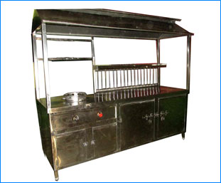 Commercial Fast Food Counters, Stainless Steel Commercial ...