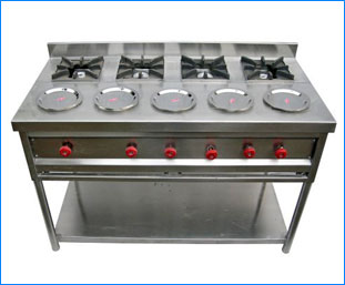 Commercial stainless steel Gas Stoves / Bhatti ludhiana punjab india
