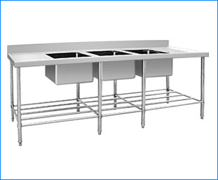 Commercial Stainless Steel Kitchen Water Sink Chimney Ludhiana Punjab India
