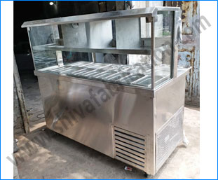 Commercial Fast Food Counters Stainless Steel Commercial