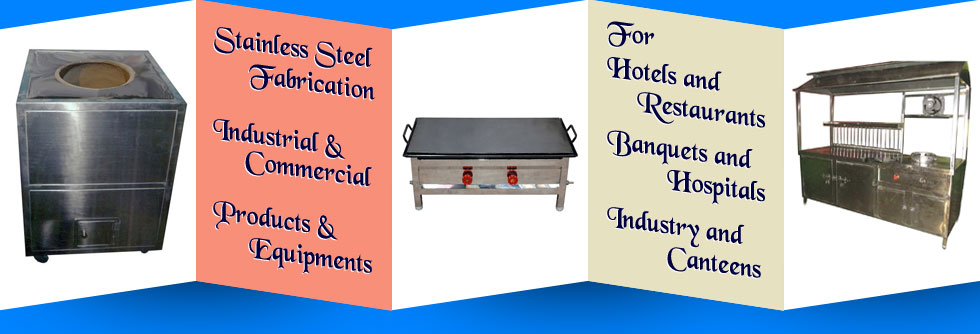 stainless steel fastfood counters - steel food counters - commercial food counters in ludhiana punjab india